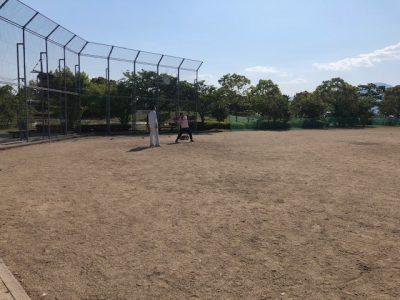 ソフトボール練習